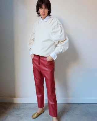 Balthazar Pants Red