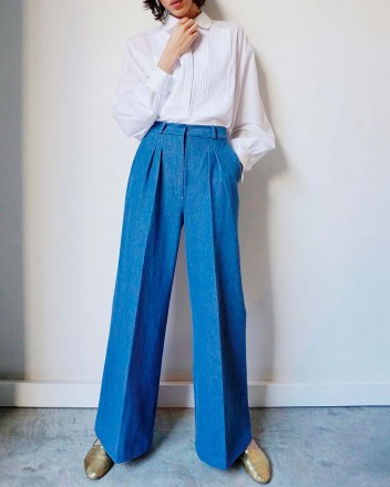 Dixie Denim Pants