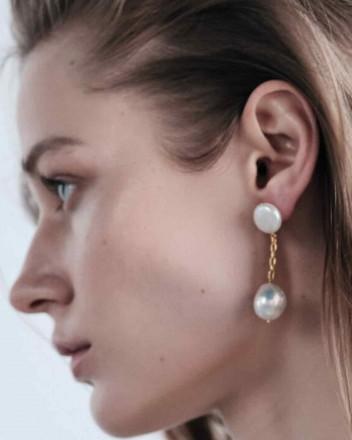 Edith Baroque Earrings In...