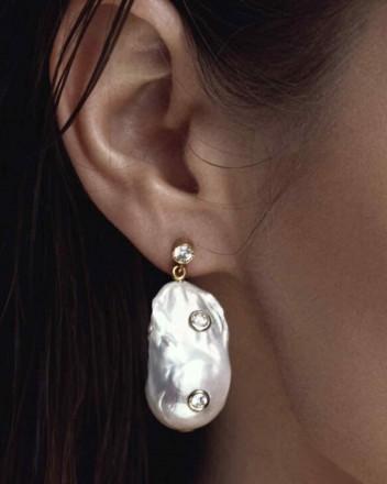 Phoebe Baroque Earrings In...