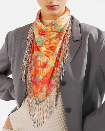 The Bandana Scarf in Orange