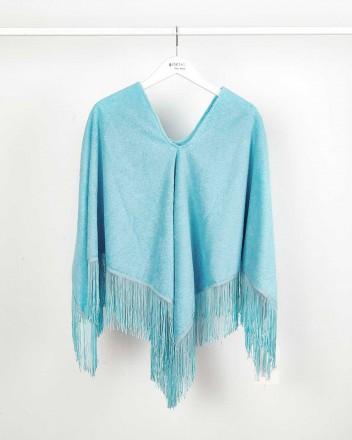 Poncho Towel Blue