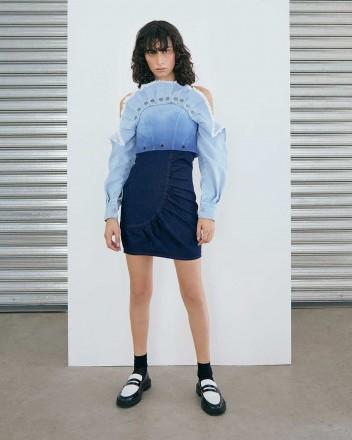 Nicolo Dress in Blue