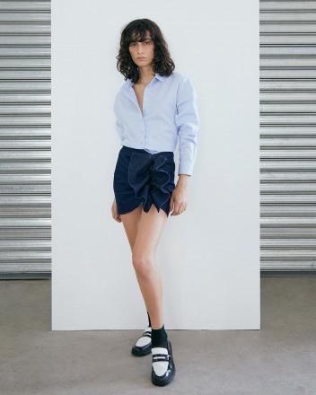 Vito Skirt in Navy