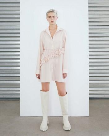 Vincent Dress in Pink