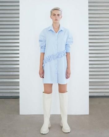 Vincent Dress in Blue