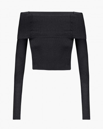 Anechka Top in Black
