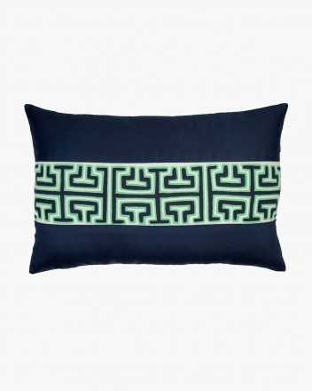 Kuna Cushion in Navy