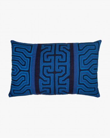 Kuna Cushion Small in Blue