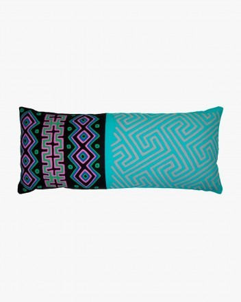 Kuna Cushion Large in Blue