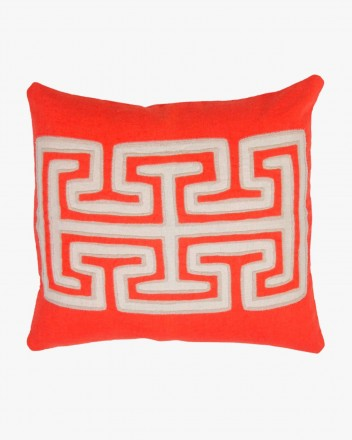Kuna Cushion Small in Red
