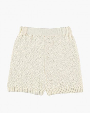 Cross Shorts in White