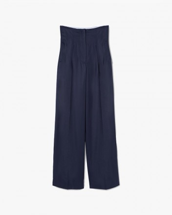 High-Waisted Smoking Trouser