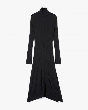 Maxi Flared Knit Dress