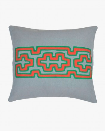 Kuna Cushion Small in Grey