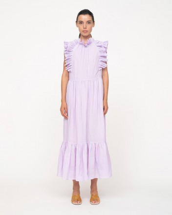 Bailey Broomstick Pleated Maxi