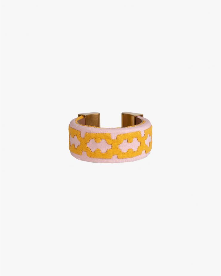 Vereda Blush Bajo Kuna Bracelet