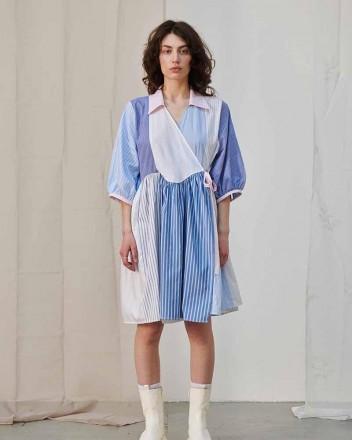 Tosca Patchwork Dress