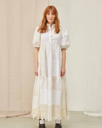 Winona Lace Patchwork Dress