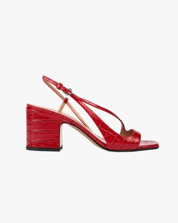 Venus Sandals in Red