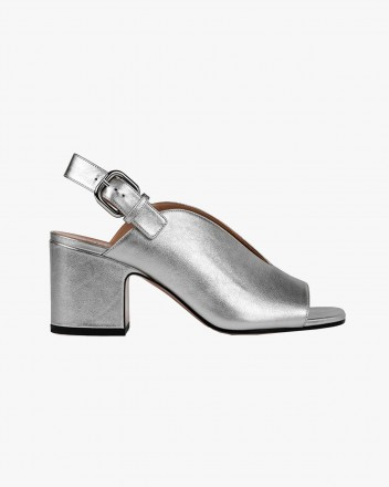 Baghera Sandals in Silver