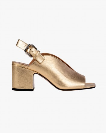 Baghera Sandals in Gold