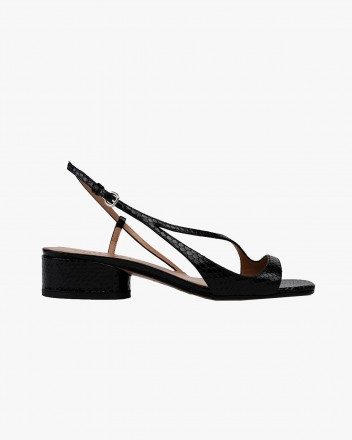 Birdie Sandals in Black