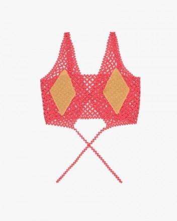 Crochet Diamond Top