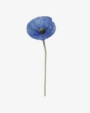 Mega Poppy Flower Blue