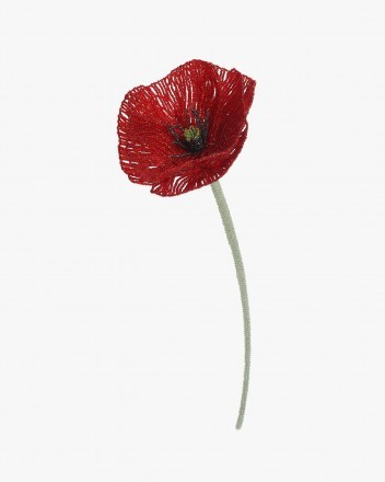 Mega Poppy Flower Red