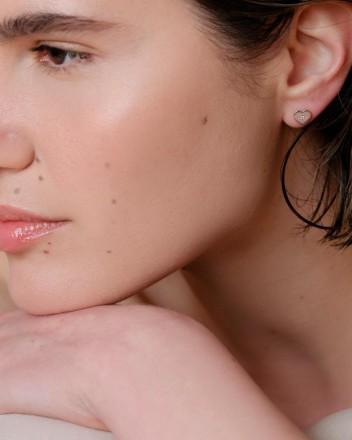 Quinn Stud Heart Earrings...