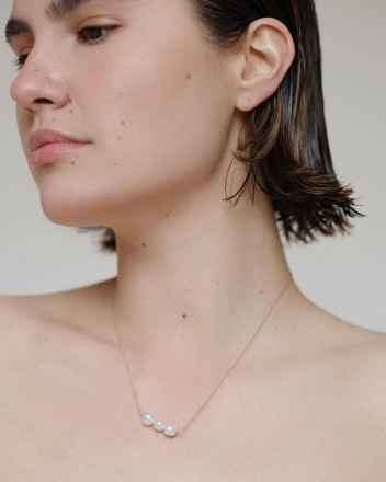 Florence Pearl Necklace In...