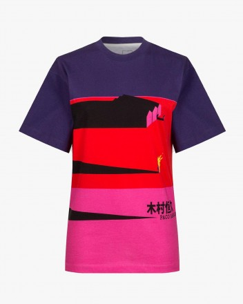 Fuchsia and Violet T-Shirt