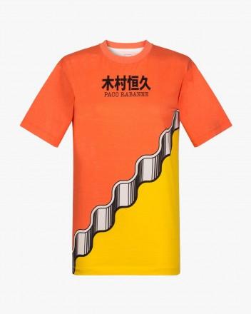 Orange and Jaune T-Shirt