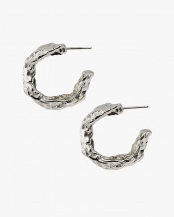 Cabo Earrings In Silver