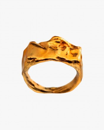 Orilla Ring In Gold Plated