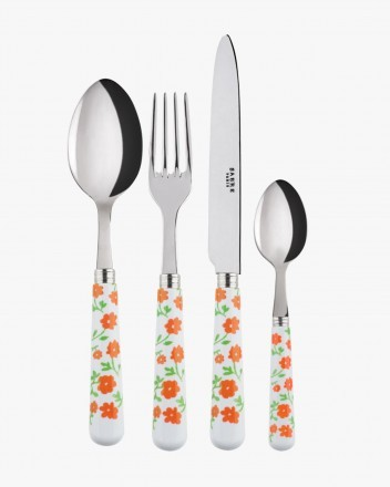 Paquerette Orange Cutlery Set