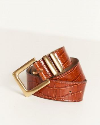 Cleo Belt in Brown