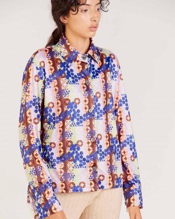 Kira Shirt in Blue