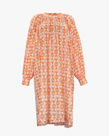 Nazca Dress in Arcilla Print