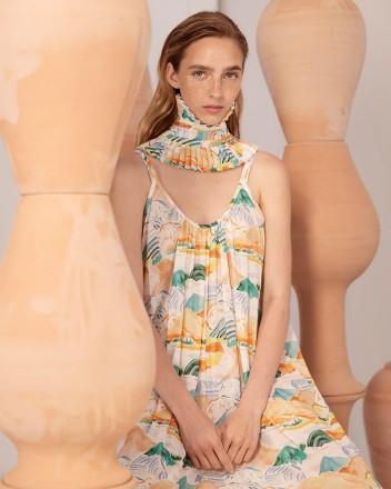 Titi Dress in Montanas Print