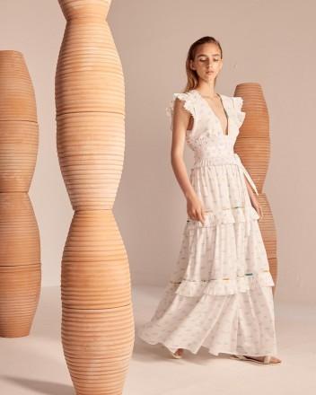 Cora Dress in Viento Print