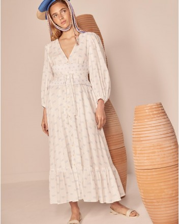 Fiera Dress in Viento Print