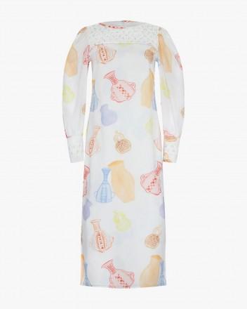 Mayu Dress in Huacos Print