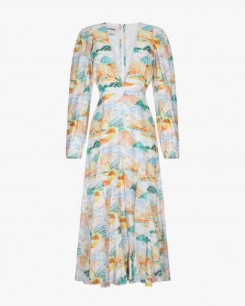Bora Bora Dress in Montanas...