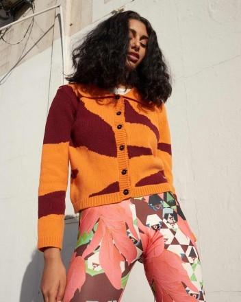 Habana Jacket in Orange