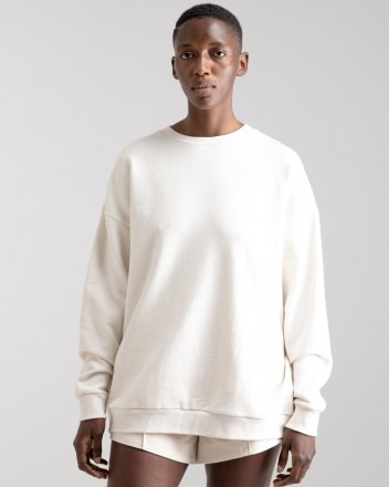 Classic Sweater in Off White