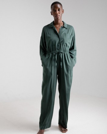 Jumpsuit Emily in Jungle Green