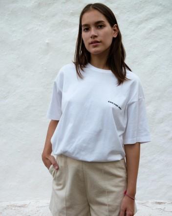 Shorts Clara in Raw white