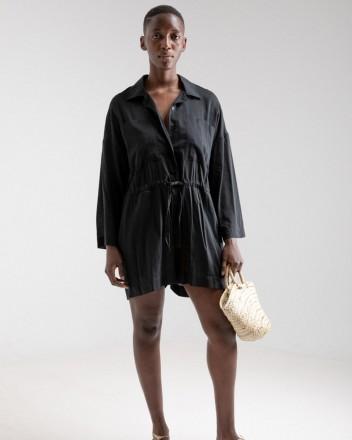 Short Jumpsuit Paloma in Black